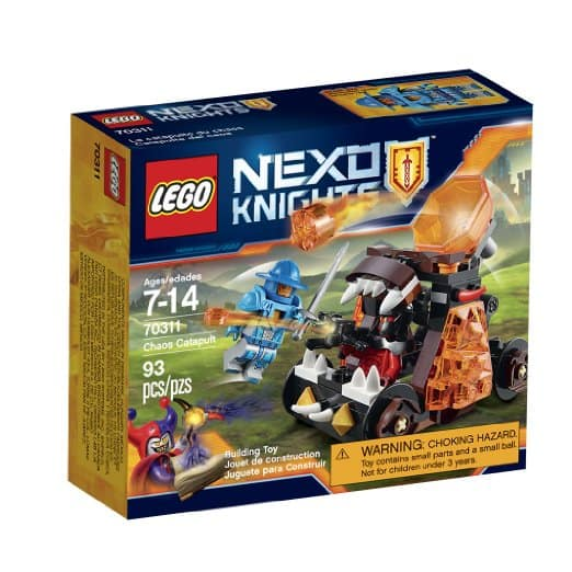 LEGO Nexo Knights Chaos Catapult  $6.40 + Free In-Store Pickup