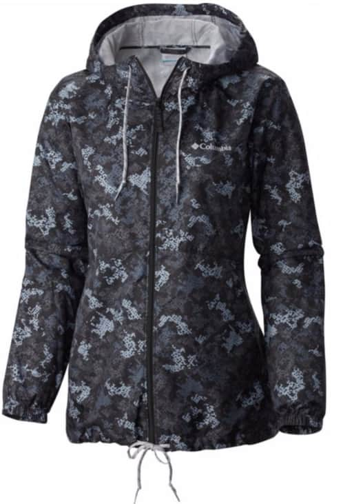 Columbia Sportswear: Women's Flash Forward Printed Windbreaker Jacket - $24.98 Plus Free Shipping w/ Greater Rewards