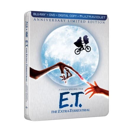 E.T. Limited Edition Steelbook (Blu-Ray/DVD/Digital Copy/UV)  $13 + Free S/H w/ Target REDcard