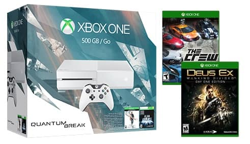 Microsoft Store:  Xbox One Consoles From $229 w/up to (4) Free Games - Free Shipping