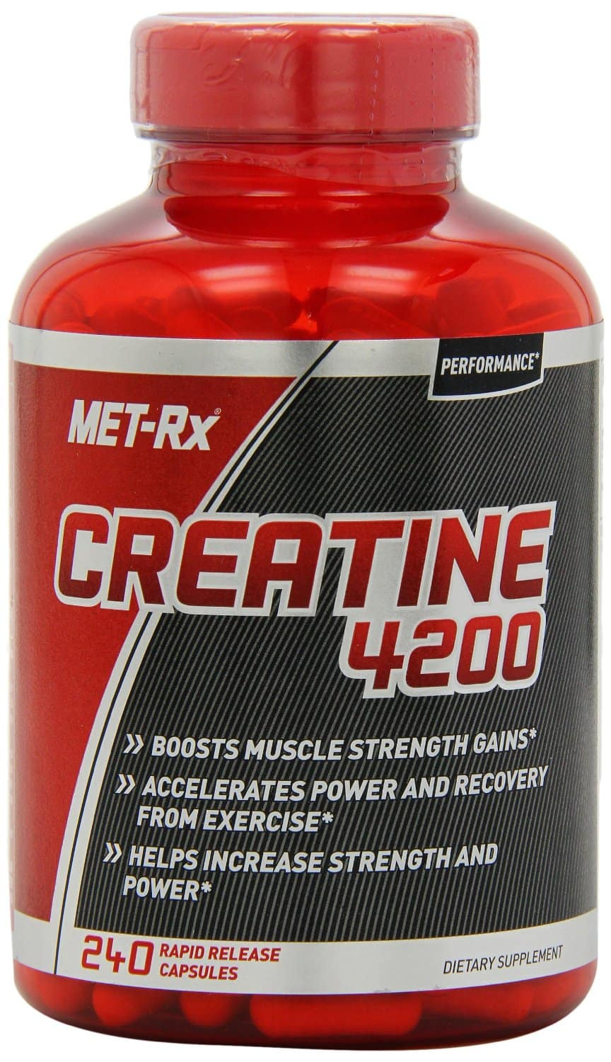 MET-Rx Creatine 4200, 240 count $4.15 FSSS after $1 coupon