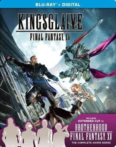 Kingsglaive: Final Fantasy XV (SteelBook) - $15.99 with GCU