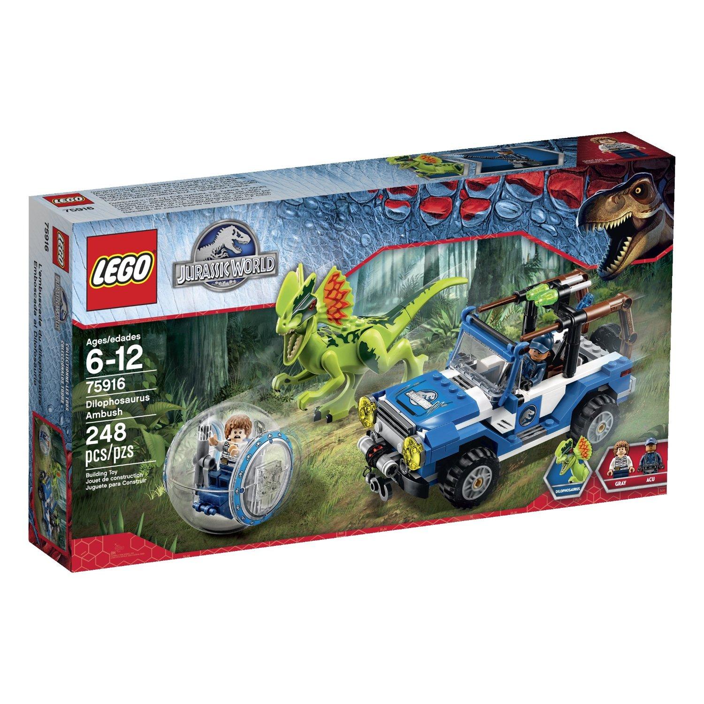 LEGO Jurassic World Dilophosaurus Ambush 75916 Building Kit $21.74