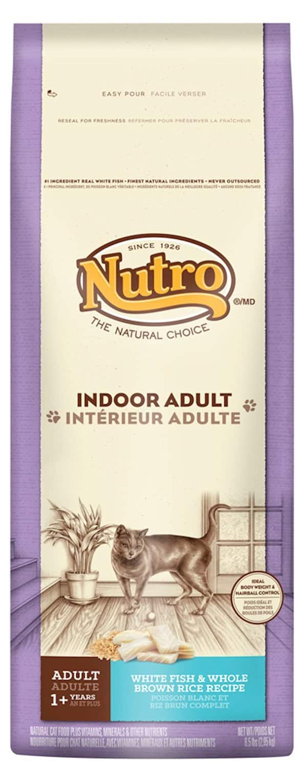 6.5-Pounds Nutro Indoor Adult Dry Cat Food (Fish Flavor)  $7 or Less + Free S/H
