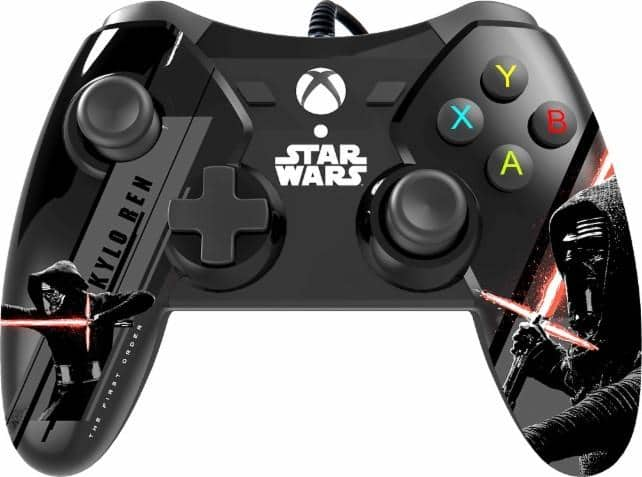 $19.99 for Star Wars: The Force Awakens Wired Controllers for Xbox One @BestBuy (Reg $50)