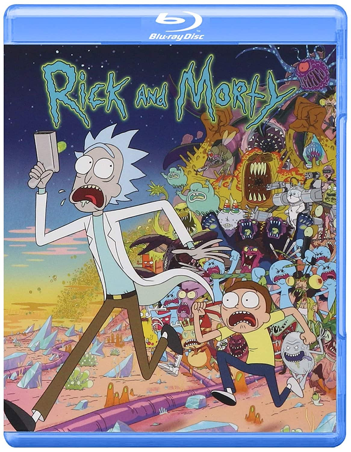 Rick & Morty: Complete Season 1 & 2 (Blu-ray) - $9.99 each + Free Store Pickup/Shipping w/ $35+ @ Best Buy
