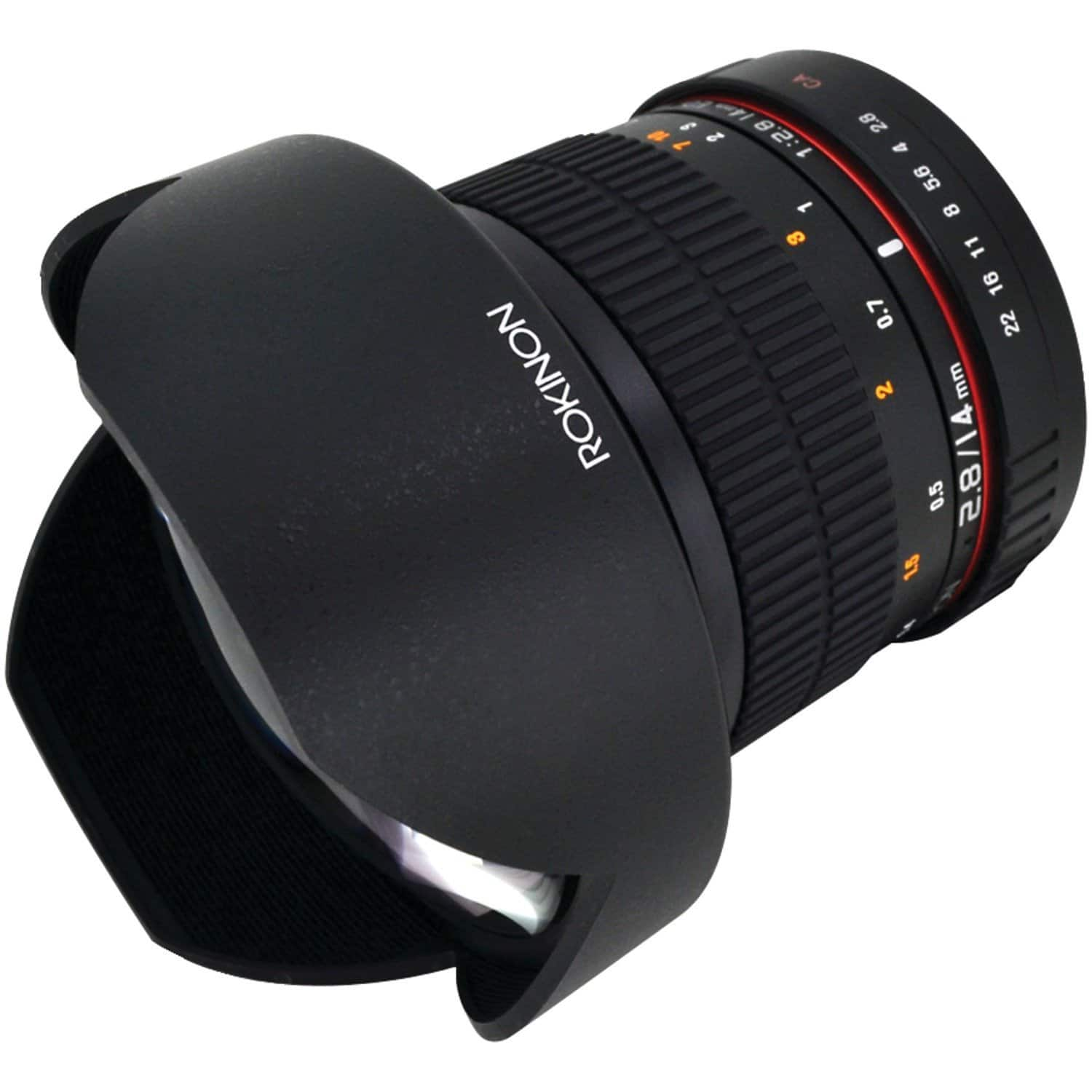 Rokinon 14mm f/2.8 Ultra Wide Lens for Nikon $289, Sony E-mount $269 or Canon  $249 & More + Free S/H