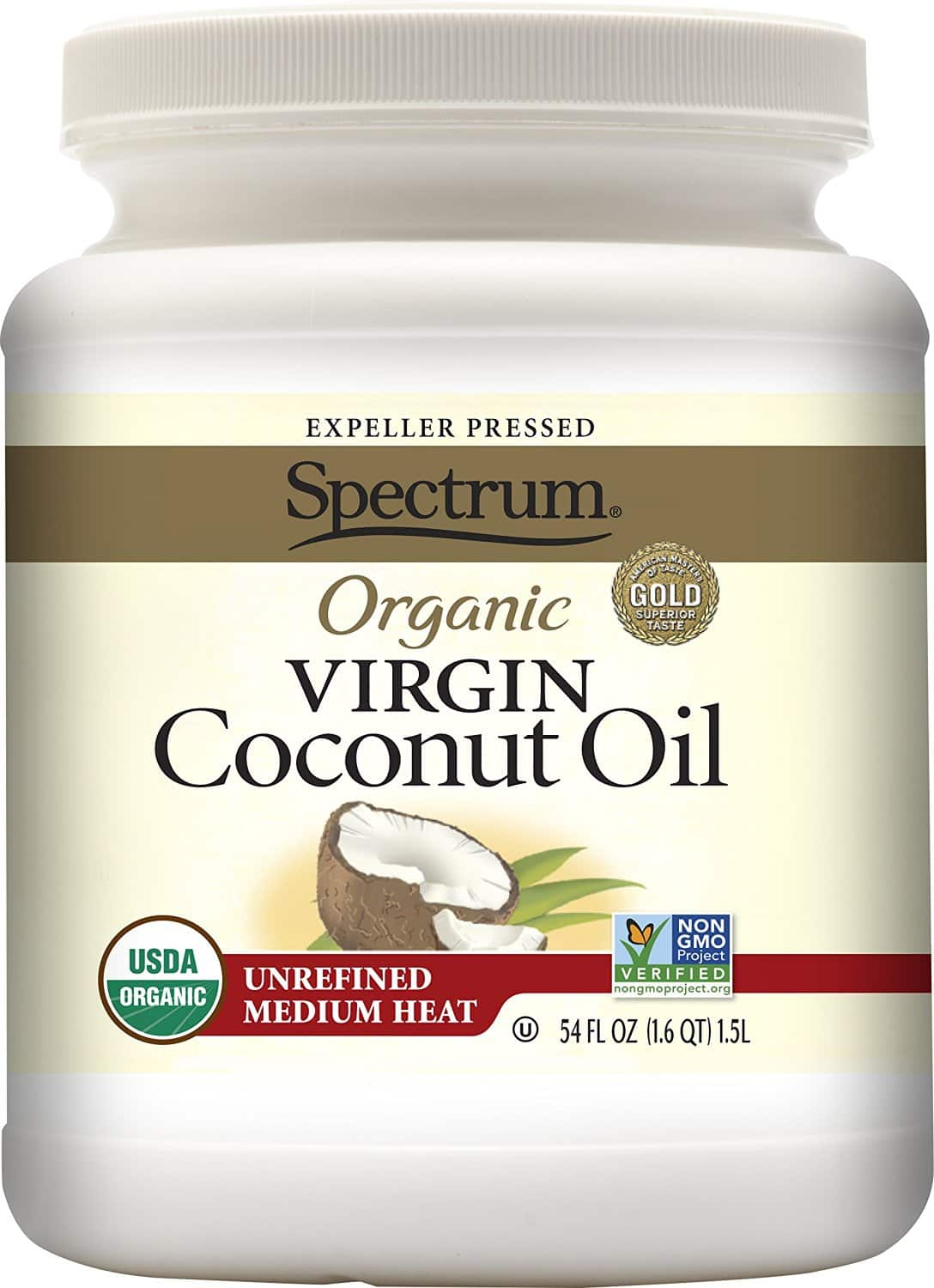 54oz. Spectrum Organic Virgin Coconut Oil $12.94 at Lowest price+ Free Shipping $14.92 otherwise with S&S