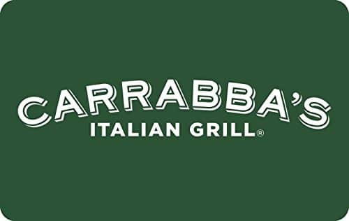 $5 CARRABBA'S E-GIFT CARD For Only 3 coke reward points
