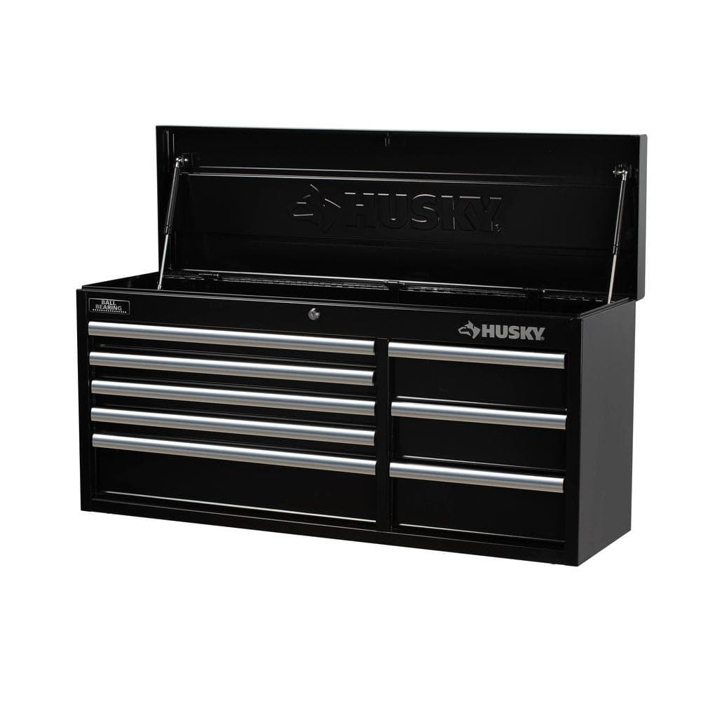 Home Depot Husky 41 in. 8-Drawer Tool Chest, Black Now $119.20