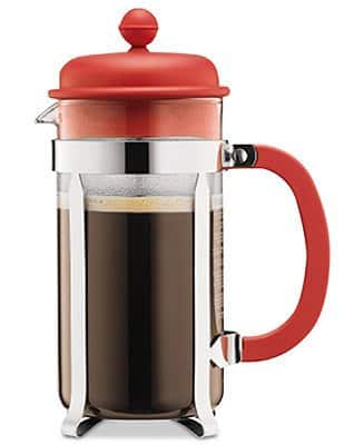 8-Cup Bodum Caffettiera French Press Coffee Maker + 2-Pack Lenox Ceramic Travel Mugs $19 shipped, 12-Cup Bodum Bean Cold-Brew Coffee Maker $17 shipped