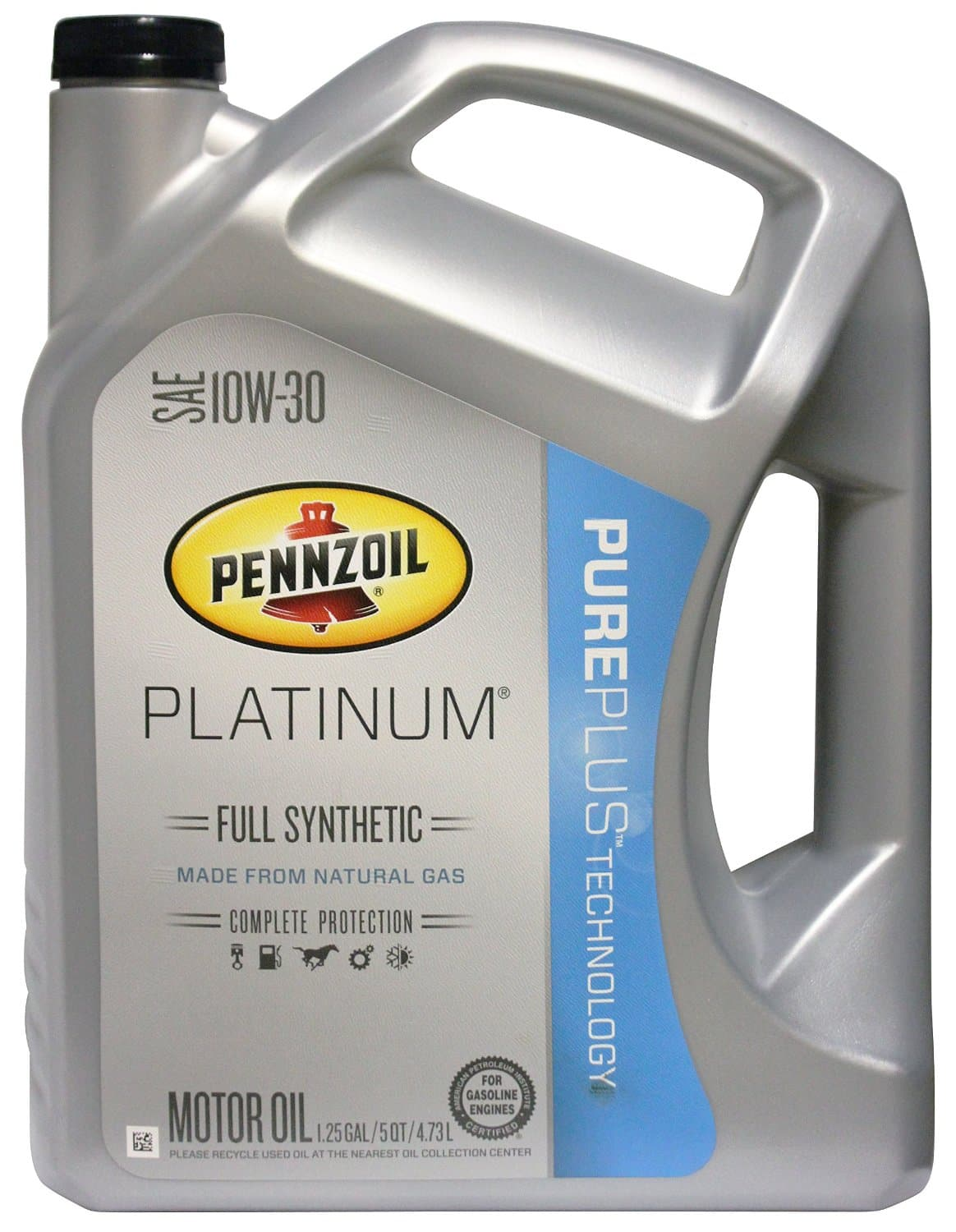 Prime Members: 5-Quart Pennzoil Platinum Full Synthetic Oil  From $9 after $10 Rebate + Free S&H