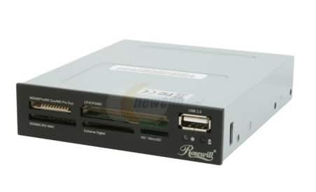 "Rosewill 74-In-1 Internal 3.5"" Bay Card Reader w/ USB 2.0 Ports or Rosewill 2-Port 2.5"" & 3.5"" SATA HDD/Mobile Rack for 5.25"" Bay for Free After Rebate + Free Shipping @ Newegg.com"