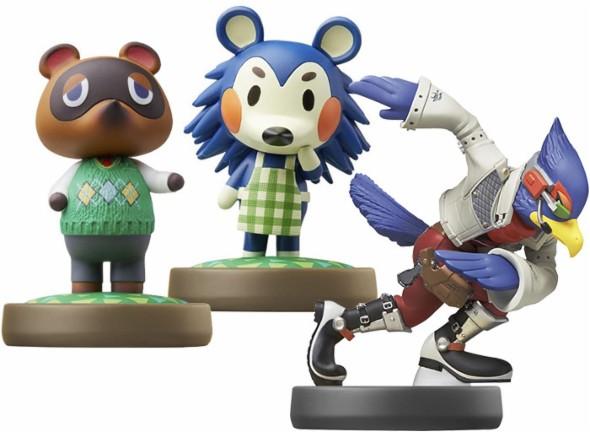 Amiibo Sale: Super Smash Bros. Falco $3.99 ($3.19 w/ GCU), Fox $4.99 ($3.99 w/ GCU), Ryu $5.99 ($4.79 w/ GCU) & More + Free Store Pickup