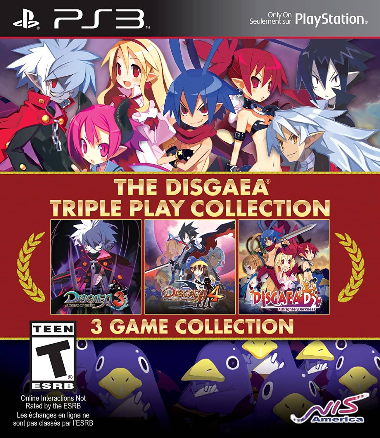 The Disgaea: Triple Play Collection (PS3)  $22 + Free Store Pickup