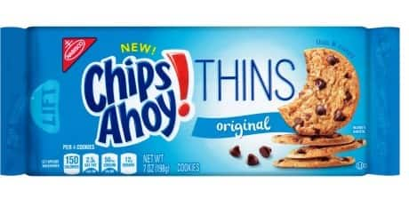 7-Oz Chips Ahoy! Thins Original Cookies Free After Coupon @ Dollar General B&M