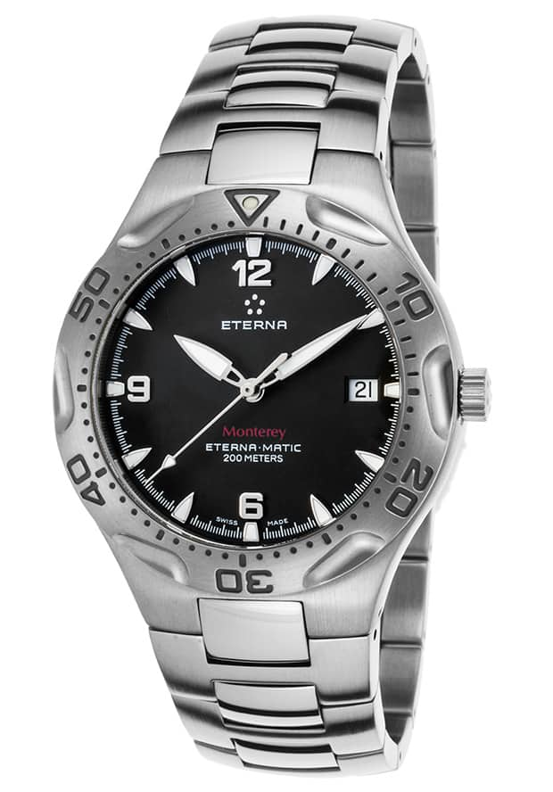 Eterna Watches: Men's Monterey Stainless Steel  $275 + Free S&H