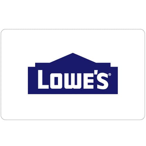Buy a $100 Lowe's Gift Card & get a bonus $15 Code - Email delivery