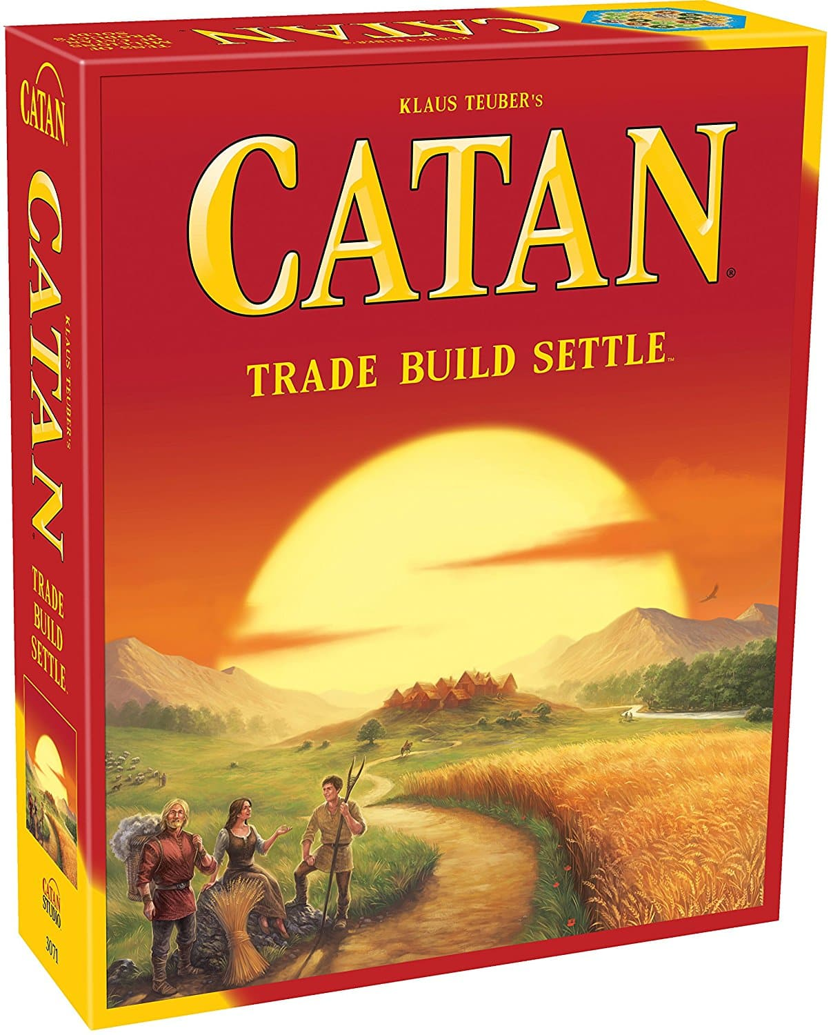 The Settlers of Catan: Strategy Board Game (5th Edition)  $32