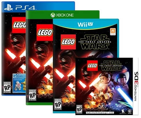 GCU Members: LEGO Star Wars: Force Awakens (PS4/XB1)  $24 & More + Free In-Store Pickup