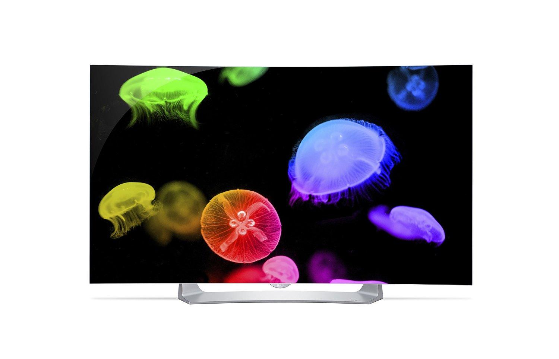 "55"" LG 55EG9100 1080p Curved Smart OLED 3D HDTV $1000 + Free Shipping via Amazon"
