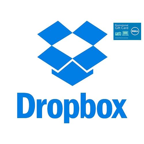 1-Year Dropbox Pro Digital Subscription + $25 Dell eGift Card $59.99 + Free Shipping via Dell