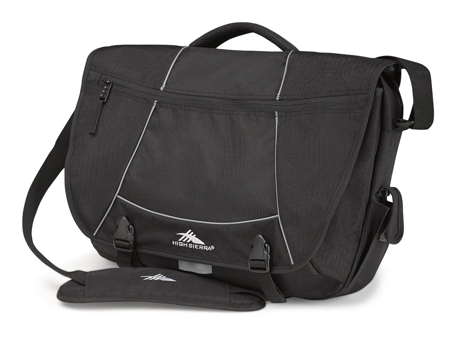 High Sierra Tank Messenger Bag -Black Amazon.com 9.28 +FSSS Prime