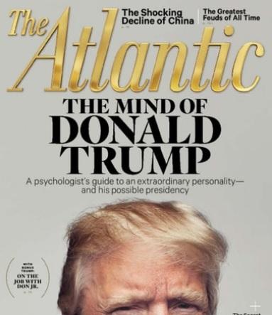 3-Years The Atlantic Magazine (Print + Digital Subscription)  $12