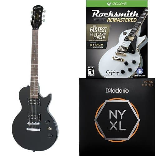 rocksmith 2014 edition remastered or w les paul special ii electric guitar bundle xbox. Black Bedroom Furniture Sets. Home Design Ideas