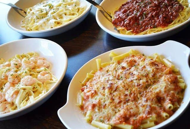 Olive Garden New Never Ending Classics Dishes Spaghetti Page 6