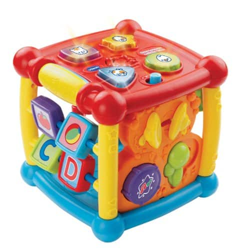 VTech & LeapFrog Toys: Buy One Get One Free (B1G1 Free): 2x VTech Busy Learners Activity Cube $19.99, Pull & Learn AlphaGator $9.98 & Many More + Free In-Store Pickup via Toys R Us