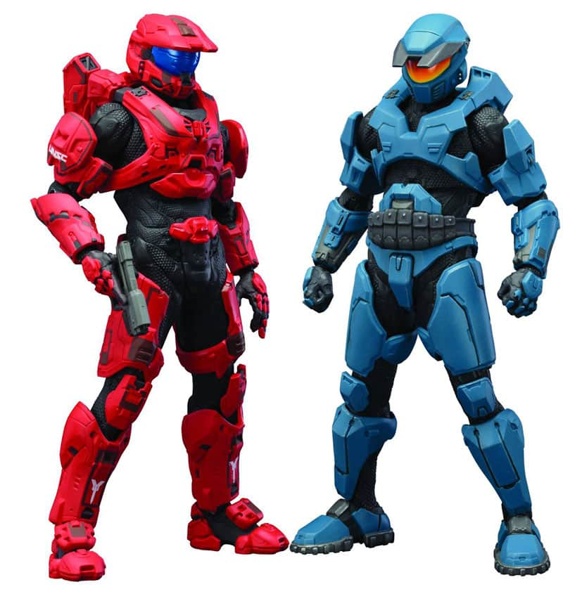 rooz Halo Mjolnir Mark V & Mark VI DX ArtFX+ Statues $15.97 + Free In-Store Pickup image