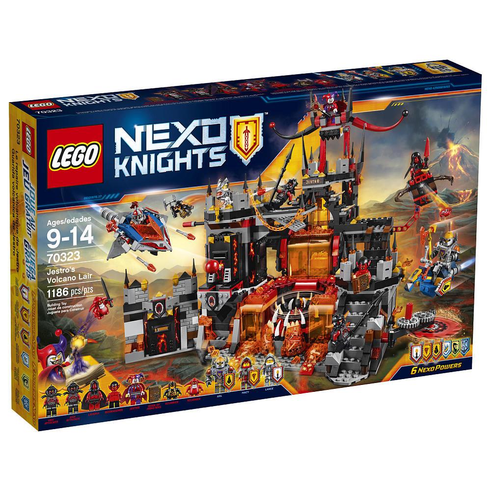 LEGO Nexo Knights 1186-Pieces: Jestro's Volcano Lair Set $83.99 + Free Shipping