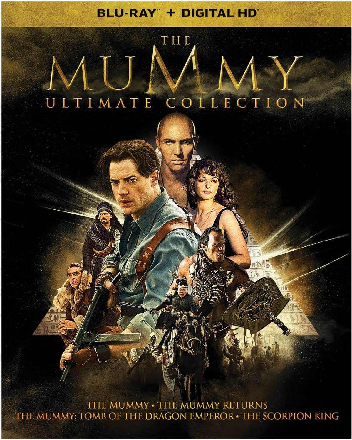 The Mummy: Ultimate Collection Pre-Order (Blu-Ray + Digital HD) $22.96 via Amazon