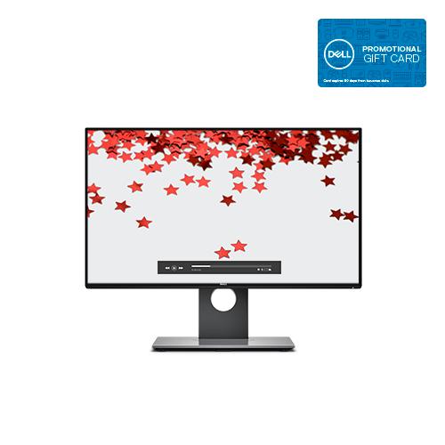 "24"" Dell UltraSharp U2417H 1080p InfinityEdge IPS LED Monitor + $100 Dell eGift Card $259.99 + Free Shipping via Dell"