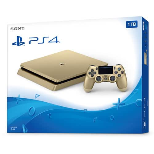1TB Sony PlayStation 4 Slim Console Pre-Order (Gold Edition) $249.99 (No Sales Tax for Most) + Free Shipping via B&H Photo