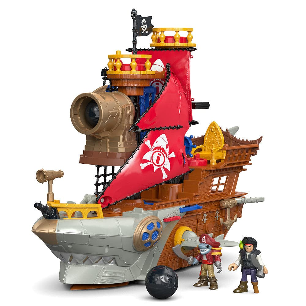 All Fisher-Price Imaginext Toys (DC Super Friends, DC Comics & More): Buy One, Get One Free: Imaginext Deep Sea Mission Command Boat 2 for $39.98 & More via Toys R Us *Active*