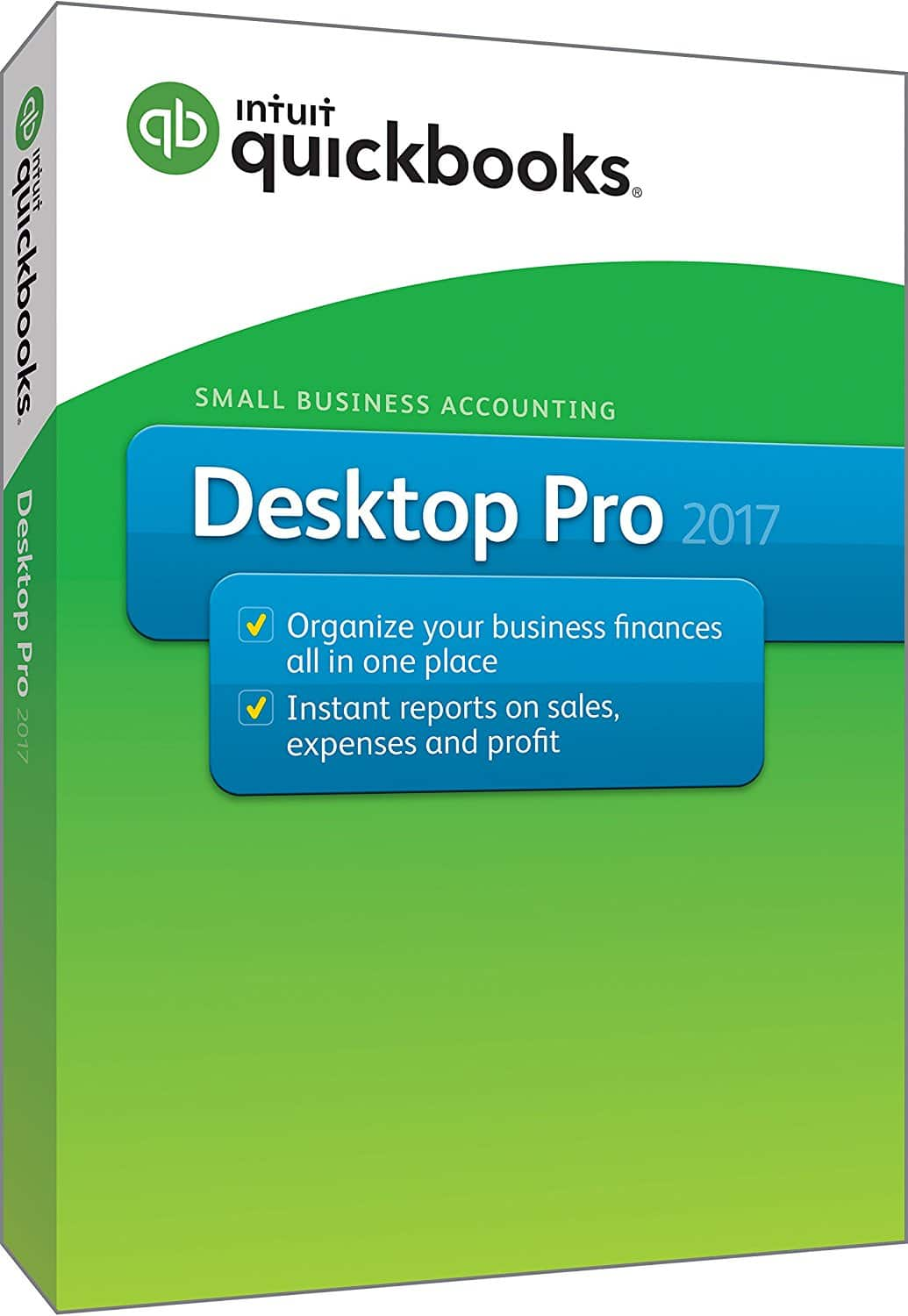 Intuit QuickBooks Desktop Pro 2017 Software (Small Business Accounting) $139.99 AC + Free Shipping via Newegg