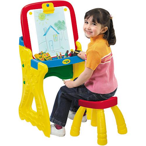 Crayola Play 'n Fold Art Studio (2-In-One Desk/Easel & Stool) $24.99 + Free In-Store Pickup via Toys R Us