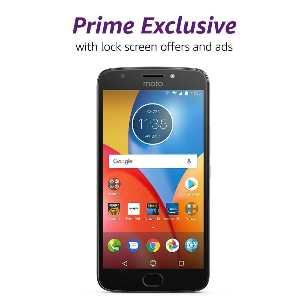 official photos d89c6 95971 Prime Members: Motorola Moto E Plus Unlocked + $40 Amazon GC ...