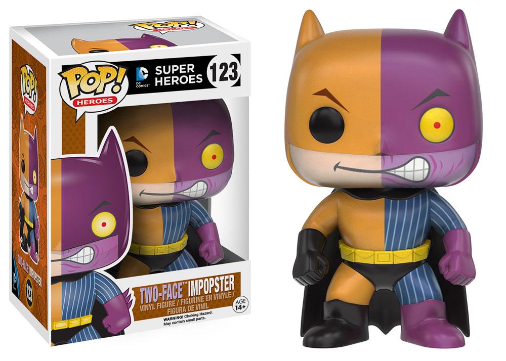 Select $5 Funko POP! Vinyl Figures: ImPOP!ster: Batman Two Face, Batgirl Posion Ivy, Street Fighter: Ken, Blanka, X-Men: Quicksilver, Storm (Mohawk) & More via GameStop