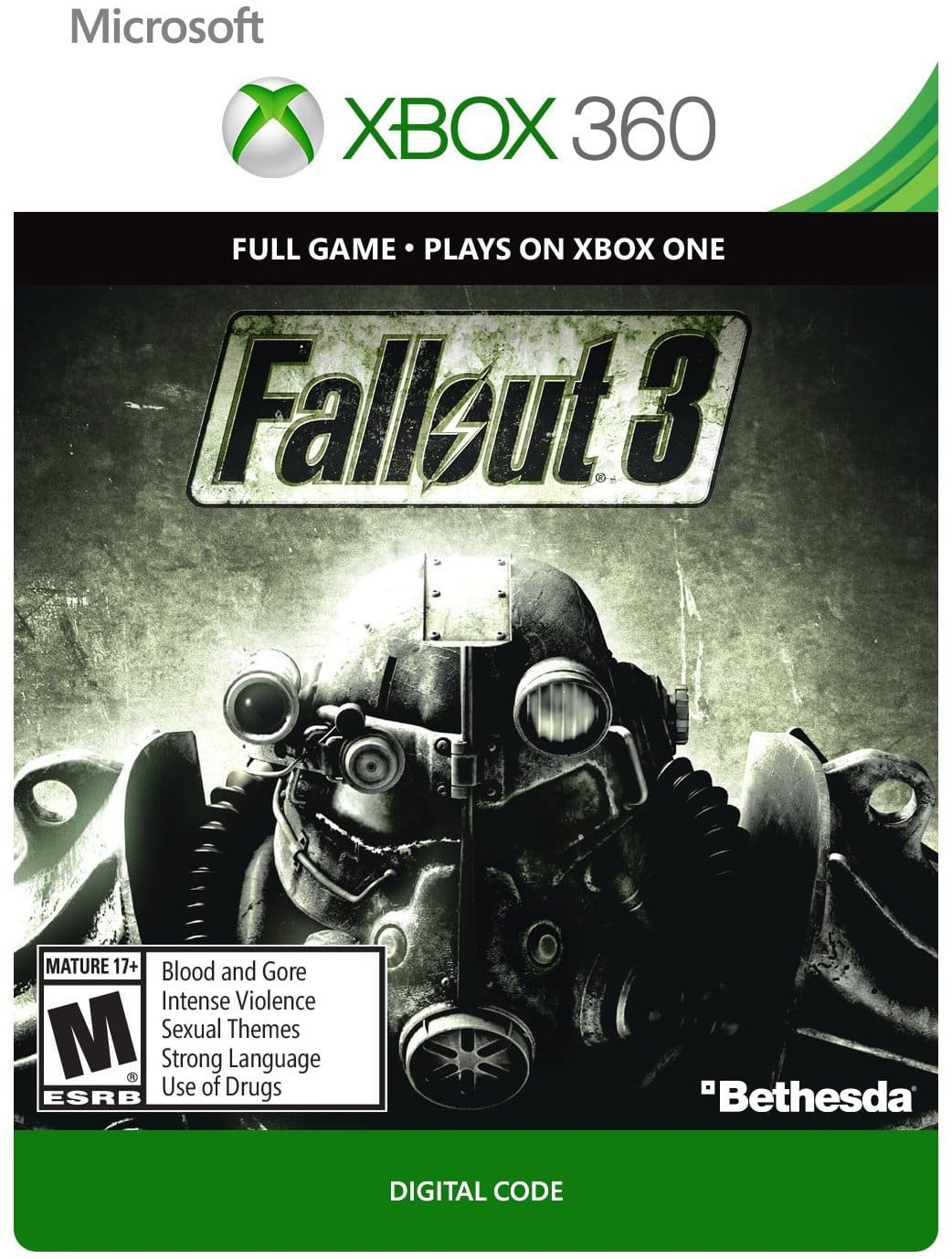 Fallout 3 or Fallout: New Vegas (Xbox One/360 Digital Code