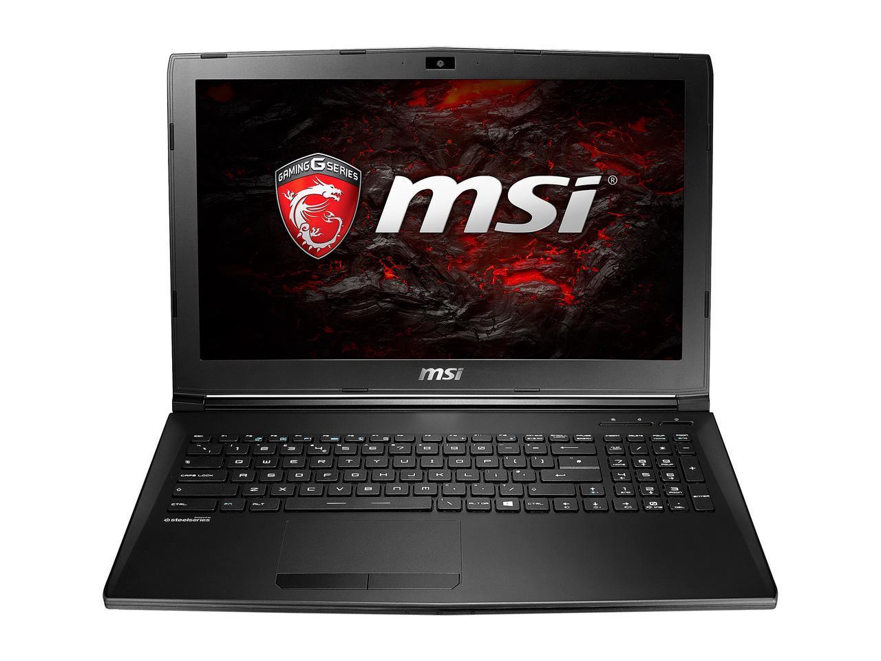 "MSI 15.6"" GL62M Gaming Laptop: i7-7700HQ, 128GB SSD + 1TB HDD, GeForce GTX 1050, Win 10 + Rocket League/Journal/Backpack $779 AR or Less + Free Shipping via Newegg"