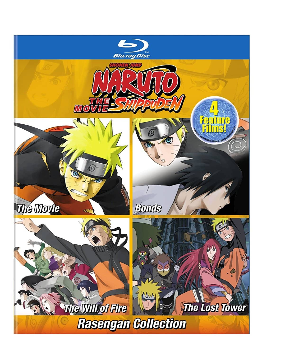 Naruto Shippuden: The Rasengan 4-Films Collection Pre-Order