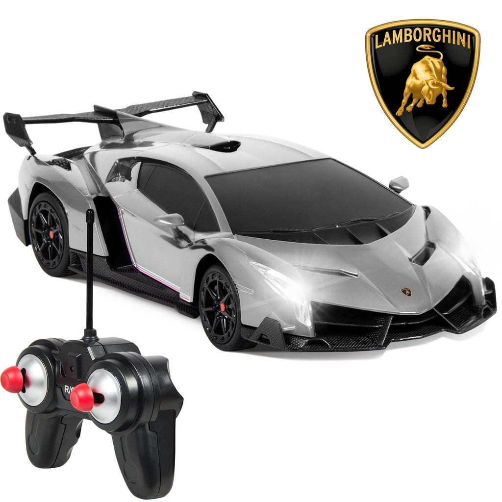 Lamborghini Veneno 1/24 Officially Licensed RC Toy Car (various colors) $14.99 AC + Free Shipping