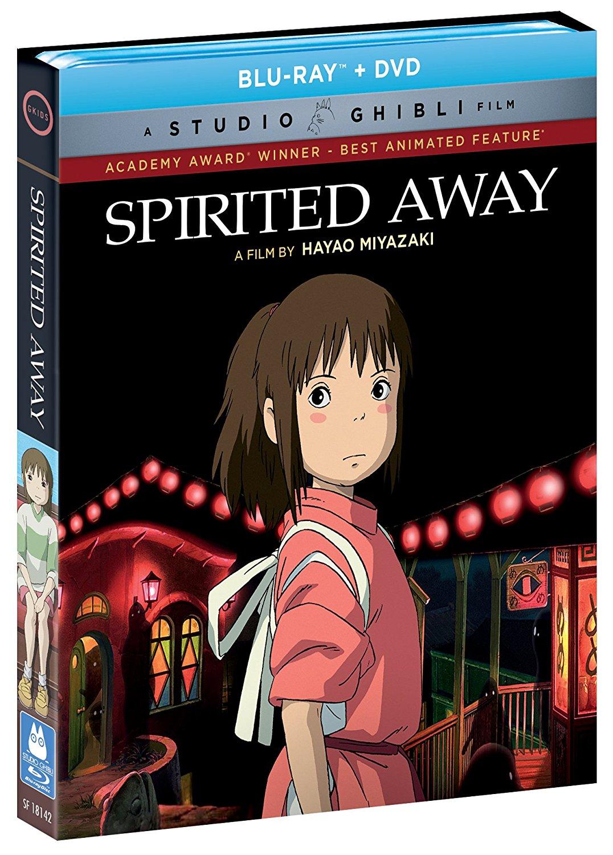 Spirited Away Pre-Order (Blu-Ray/DVD Combo) $15.97 via Amazon