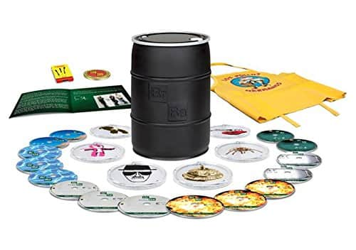 Breaking Bad: The Complete Series Collectible Money Barrel Edition (Blu-ray) $54.99 + Free Shipping via Amazon