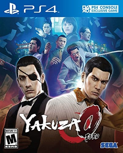 Yakuza 0 (PS4) $39.99 + Free Shipping via Amazon