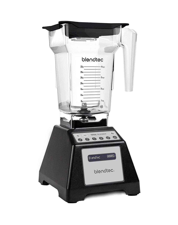 Blendtec Total Blender Classic w/ FourSide Jar (Black) $249.99 + Free Shipping via Amazon