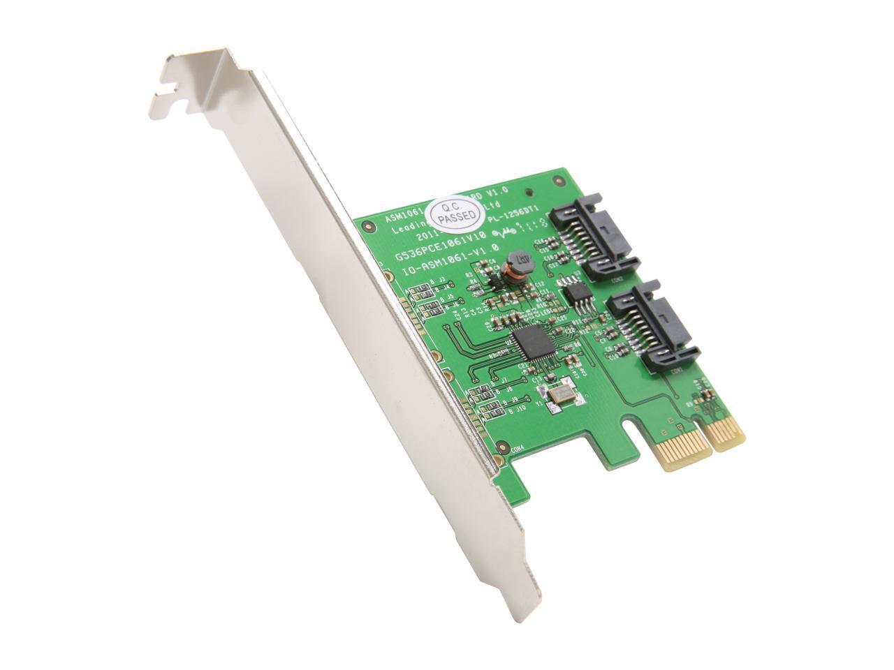 Syba 2x SATA III 6.0Gb/s PCI-e 2.0 Controller Card $1.99 AR + Free Shipping via Newegg